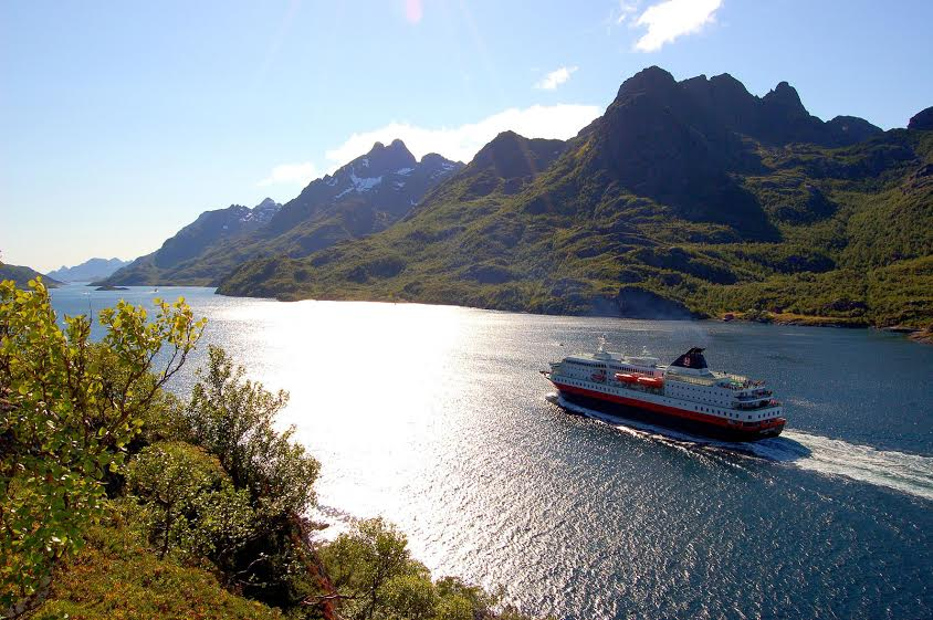Crucero MS Richard - Hurtigruten, Noruega