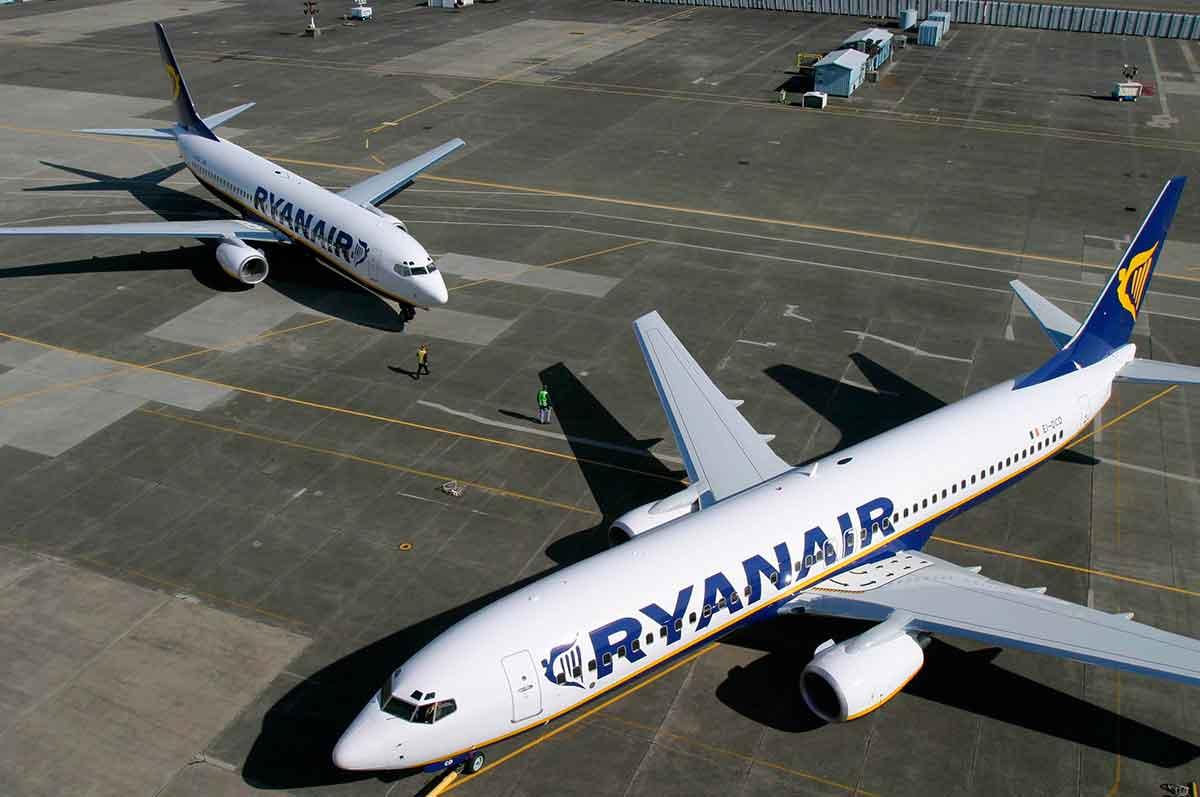 Ryanair, una de las compañías que más contamina en Europa
