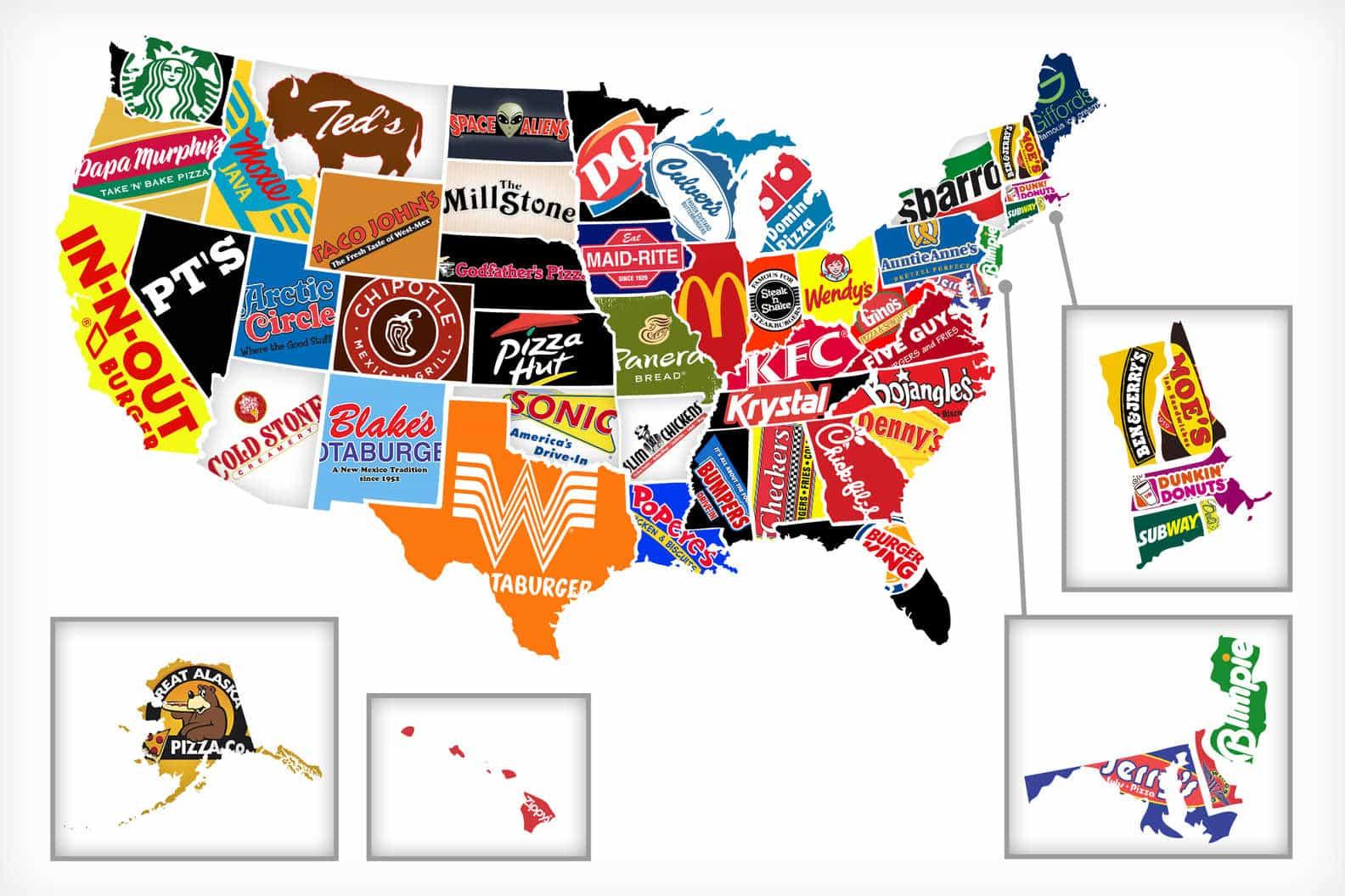 Cadena comida rápida USA