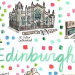 Ciudades del mundo en ilustraciones llenas de color y alegría